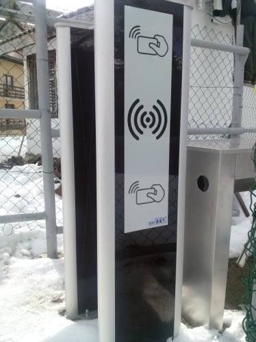 Elektronski ski pass sistem